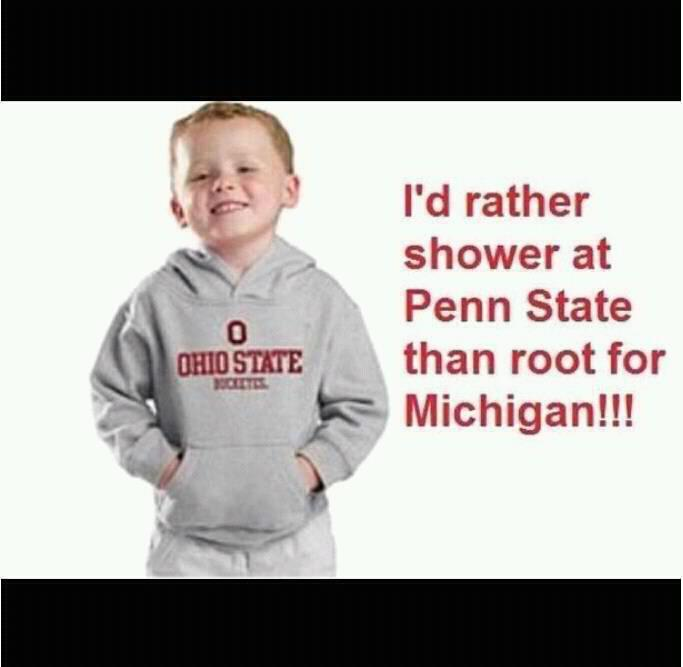 Quot I Would Rather Shower At Penn State Quot And Other
